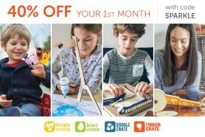 kiwi crate 40% coupon
