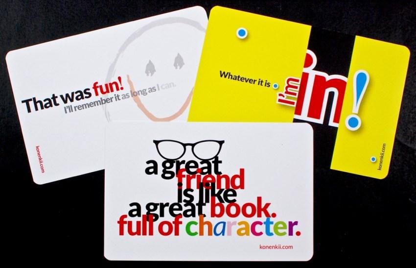 konenkii postcards