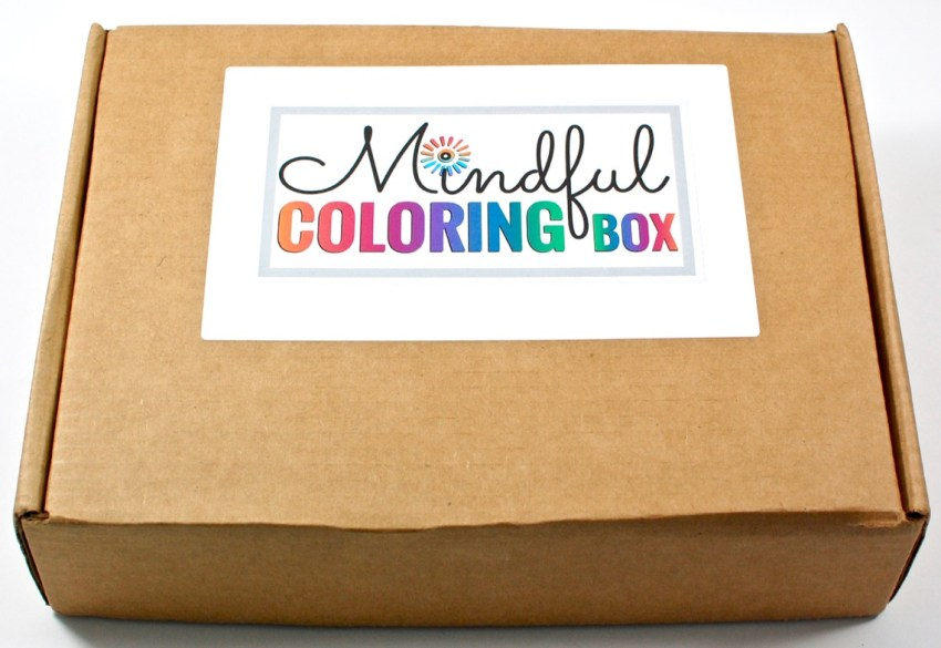 Mindful Coloring Box review