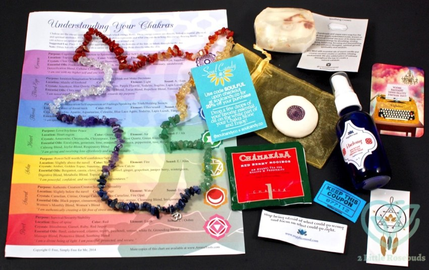 Sapphire Soul June 2016 Mindful & Mystic Box Review & Coupon Code
