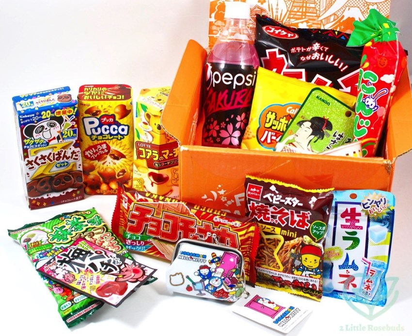 TokyoTreat April 2016 Japanese Candy Box Review