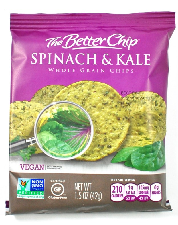 The Better Chip spinach & kale