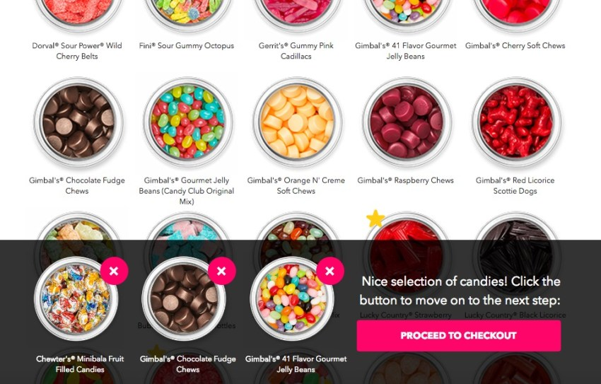 Candy Club pick your own candy