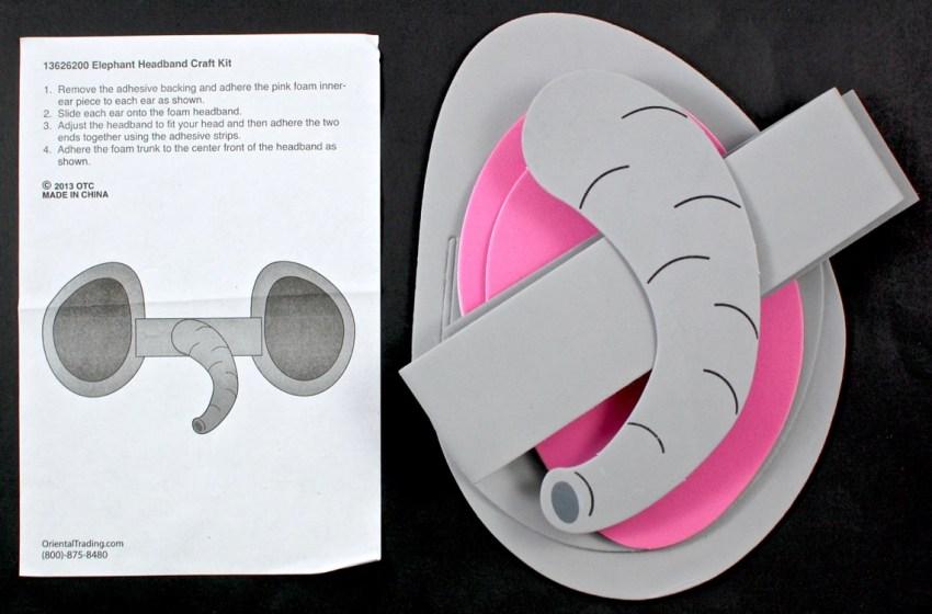 elephant mask craft