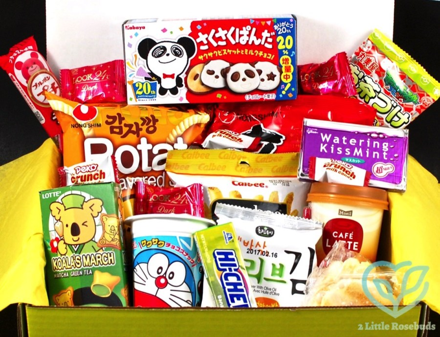 June 2016 EsianMall snack box review