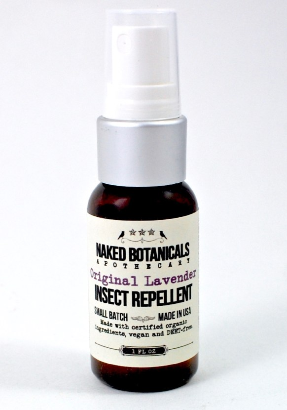 Naked Botanicals bug spray