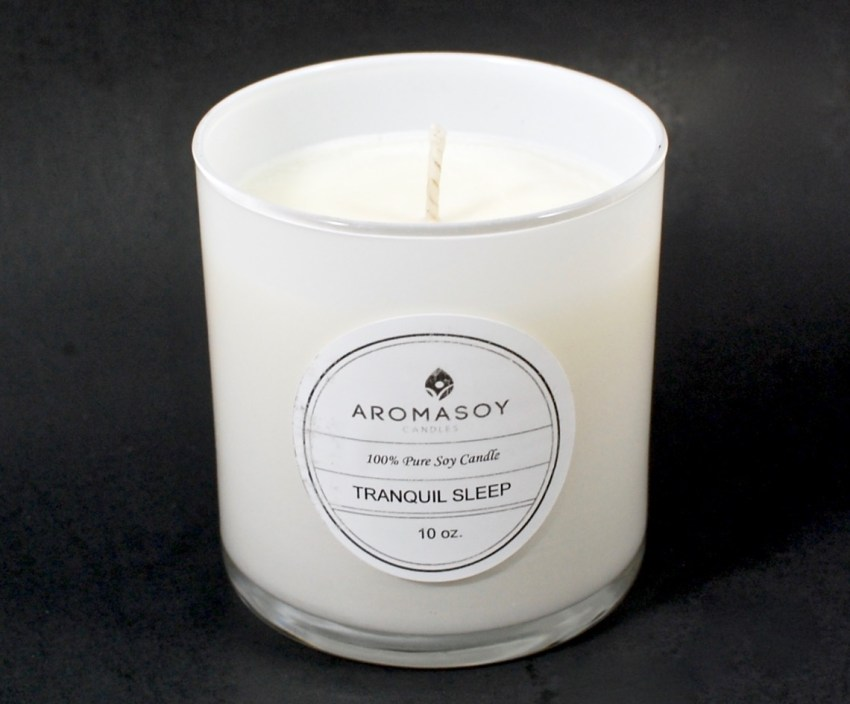Aromasoy candle