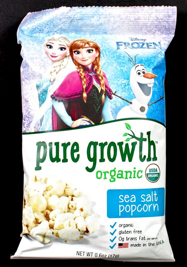 pure growth organic popcorn