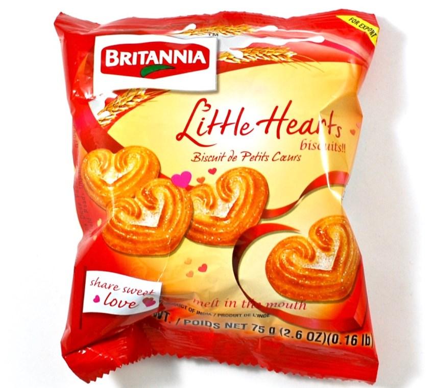 little hearts cookies