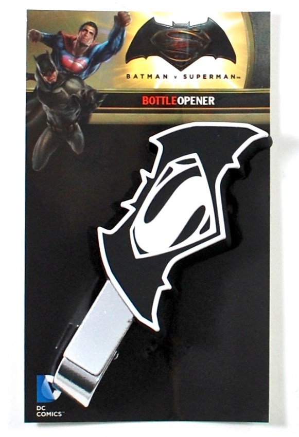 batman vs. superman bottle opener