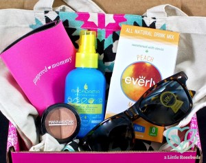 July 2016 Pampered Mommy Box review