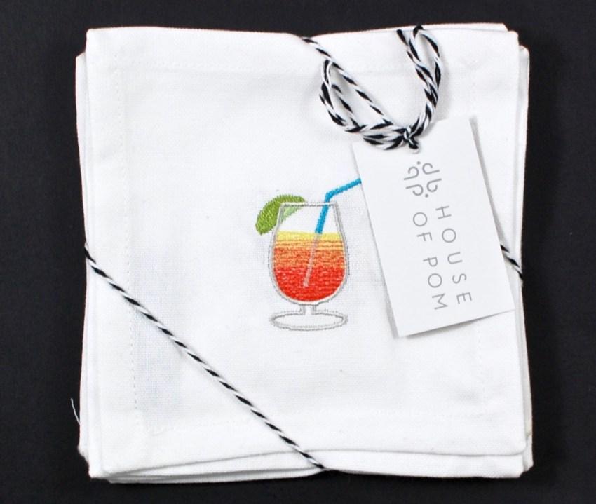 emoji cocktail napkins