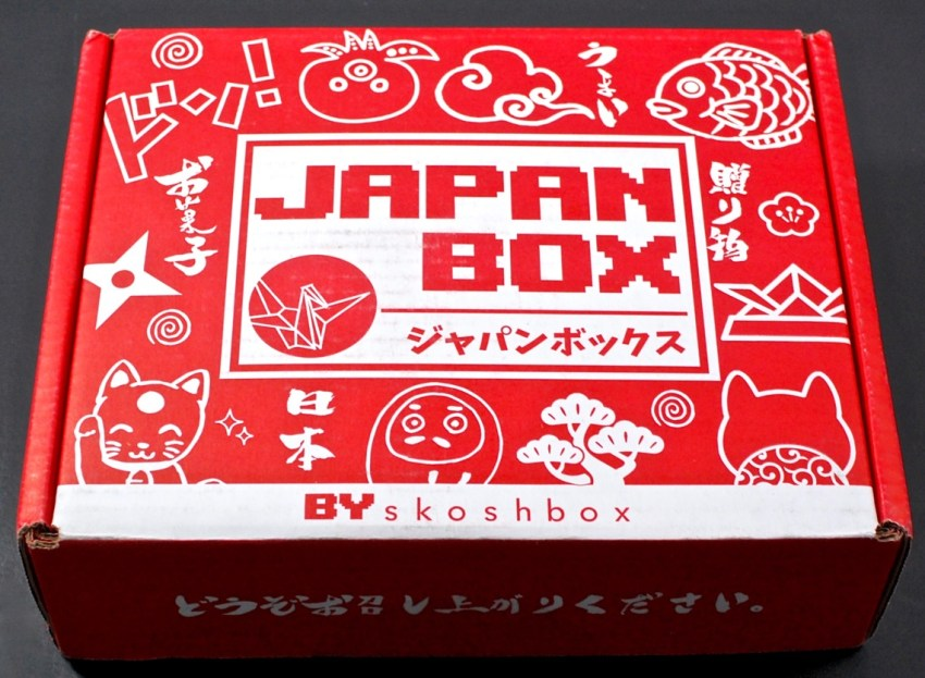 Skoshbox Japan Box review