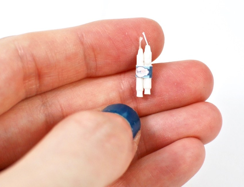 miniature candlesticks