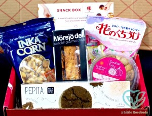July 2016 Try the World snack box review