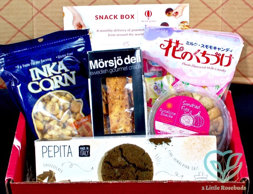 Try the World July 2016 Snack Box Review & First Box Just $4