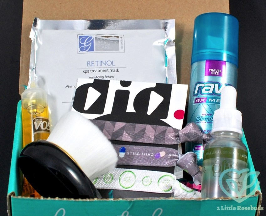 August 2016 Beauty Box 5 review
