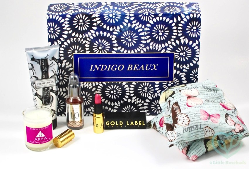 Indigo Beaux July 2016 Luxury Beauty Box Review
