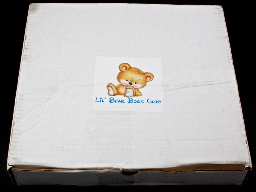 Lil' Bear Book Club box