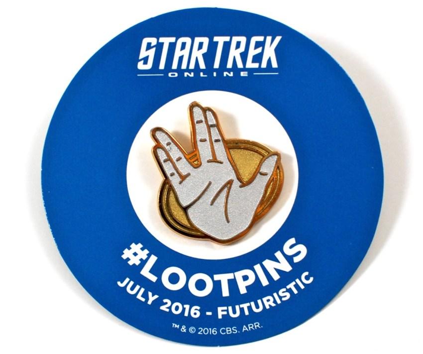 Star Trek Loot Crate pin