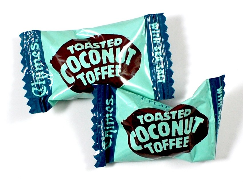 toasted coconut toffee