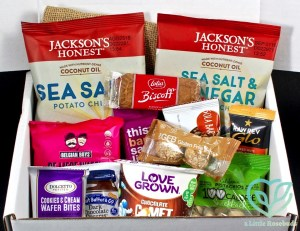 SnackSack August 2016 Subscription Box Review & Coupon Code