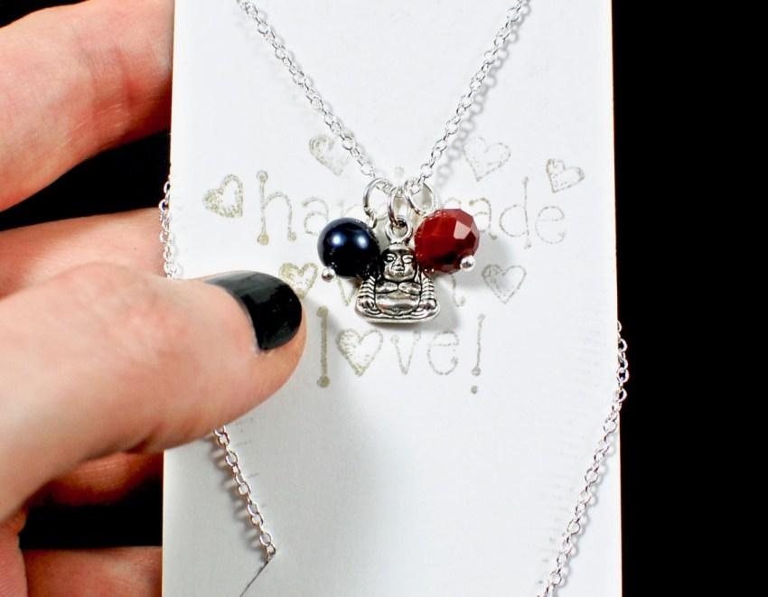 buddha charm necklace