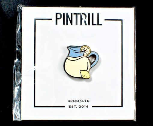 Pintrill lemonade pin