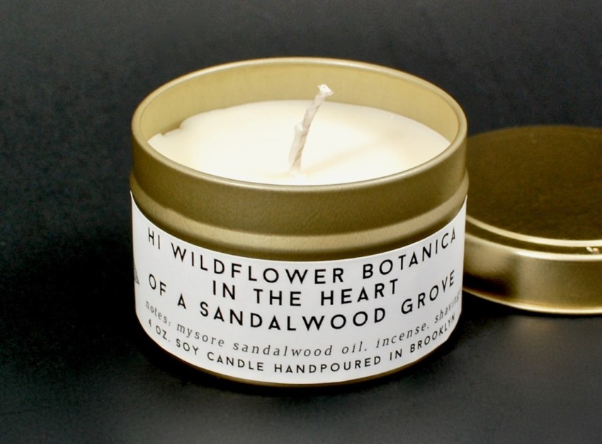 Hi Wildflower candle
