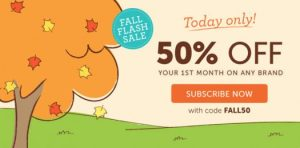 Kiwi Crate 1-Day Flash Sale – Save 50% on Your First Month