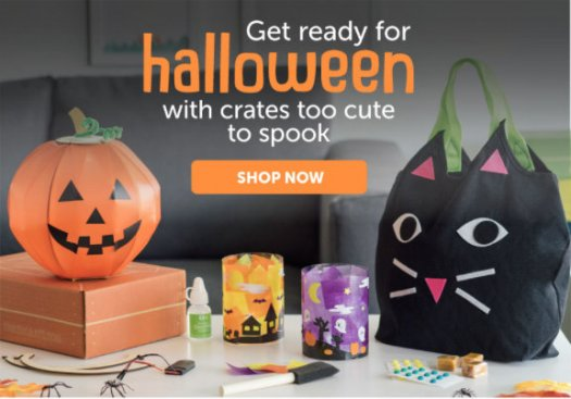 Kiwi Crate Halloween Crates Now Available!