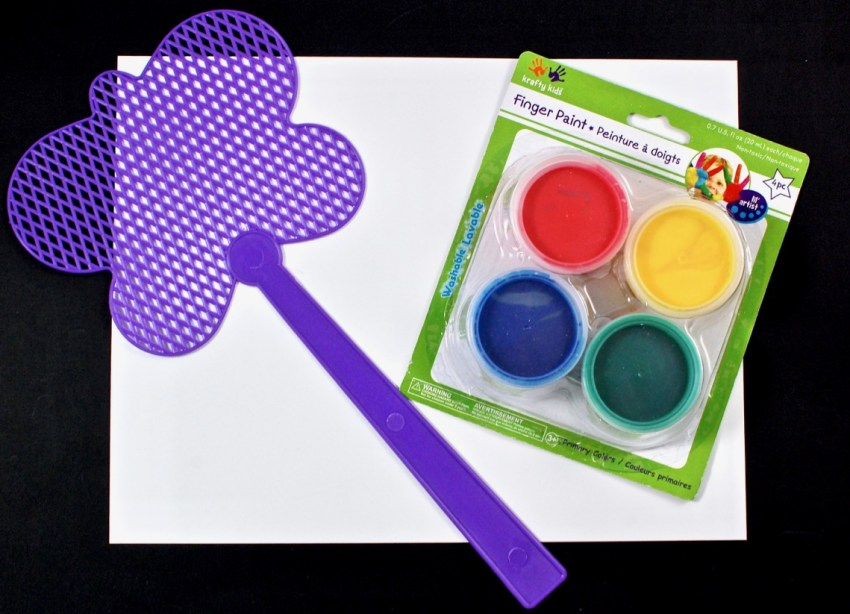 fly swatter painting