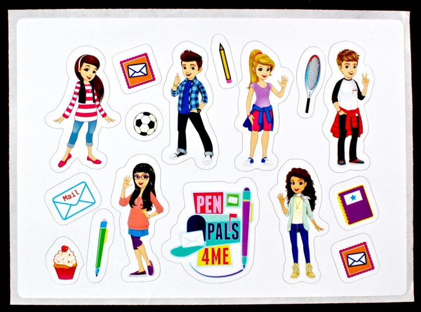 pen pals stickers