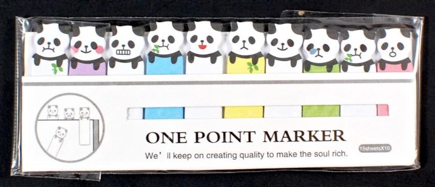 panda page markers