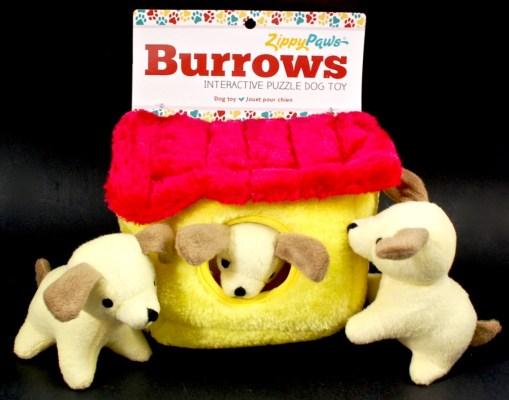 zippy burrows dog toy