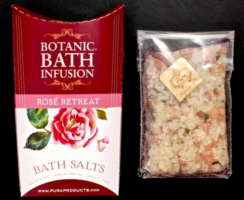 Pura Botanicals bath infusion