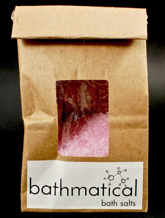 Bathmatical bath salts