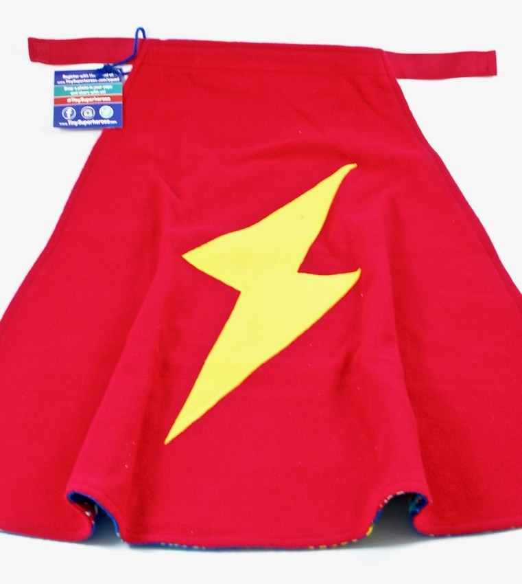 Tiny Superheroes cape