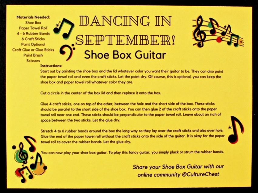 shoe box guitar