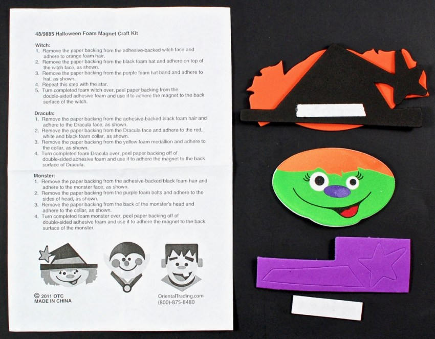 witch magnet craft
