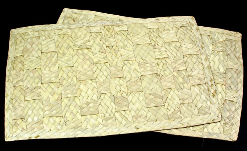 palm leaf placemats