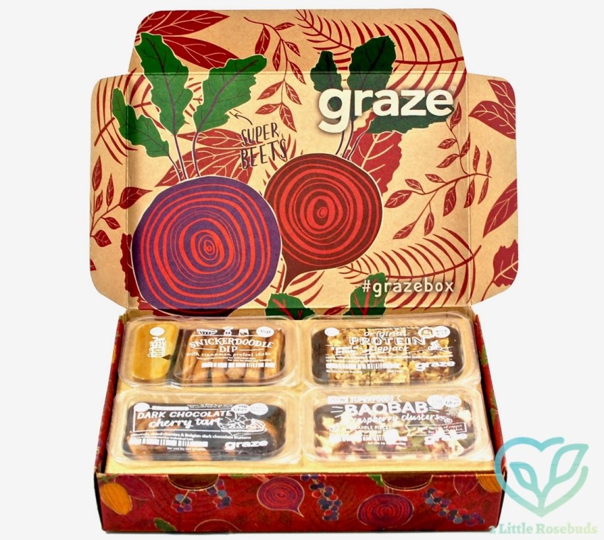 Graze October 2016 Subscription Box Review & First Box FREE