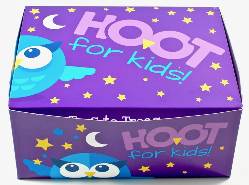 Hoot for Kids box