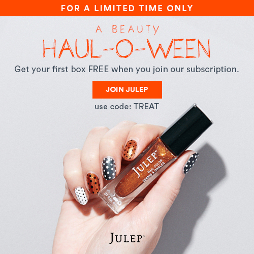 Julep FREE 3-Piece Halloween Themed Box with Subscription