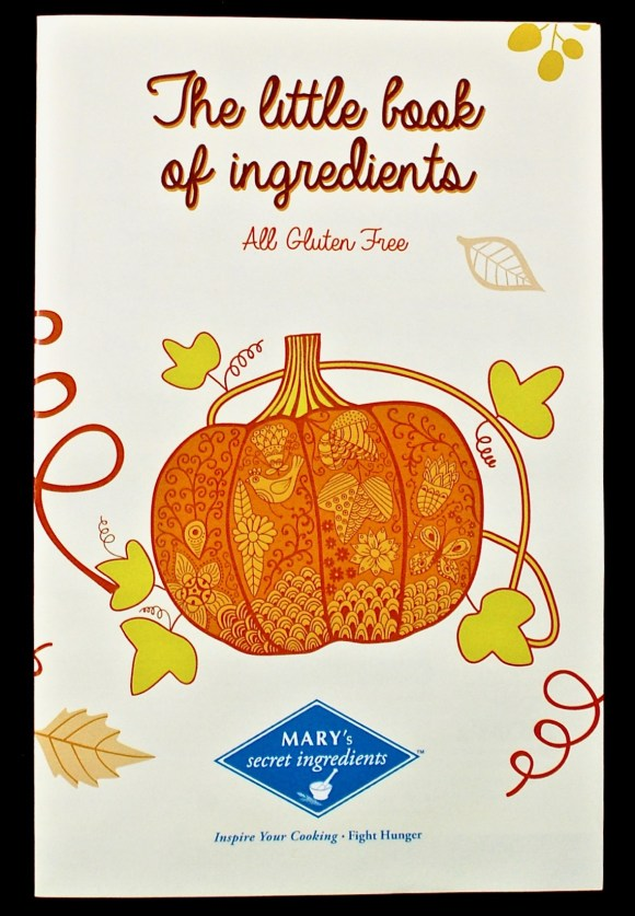 Mary's Secret Ingredients review