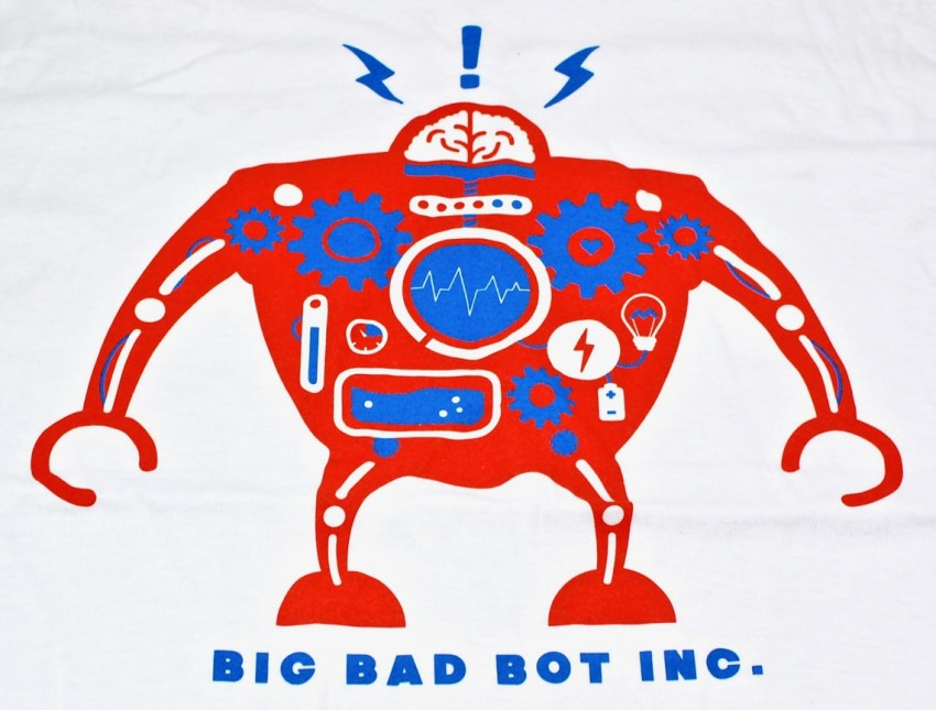 Big Bad Bot Inc shirt