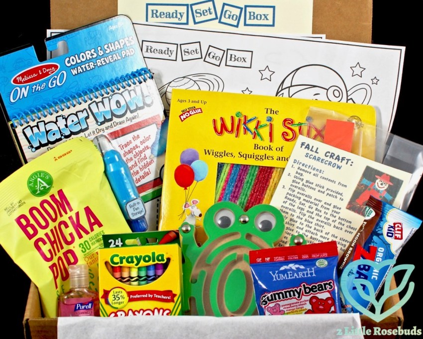 Ready Set Go Box November 2016 Subscription Box Review & Coupon Code