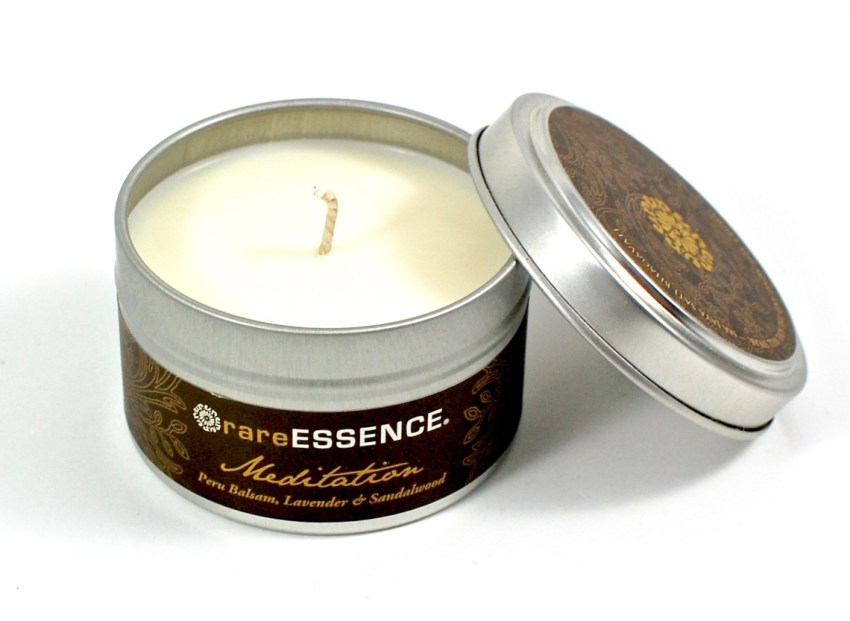 Rare Earth Naturals candle
