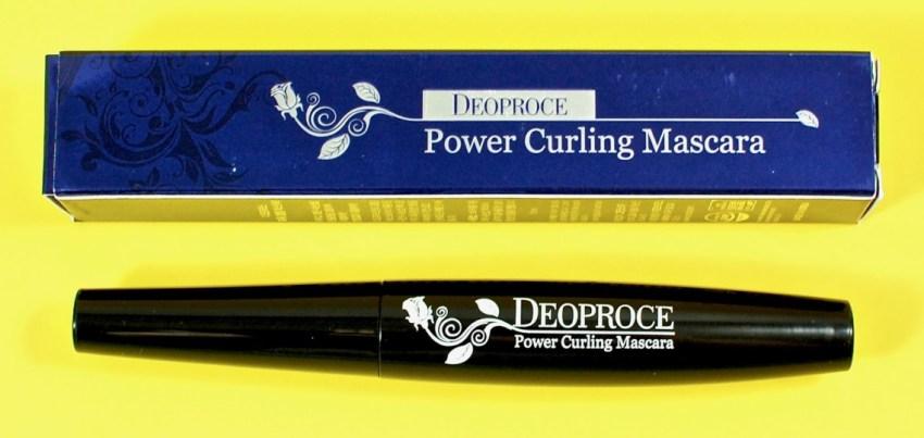 Deoproce power curling mascara