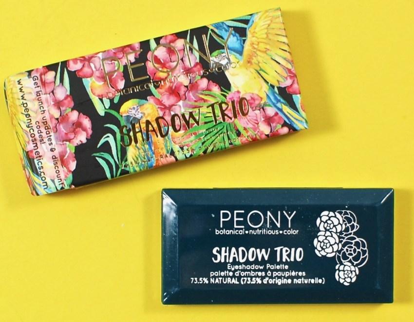 Peony shadow trio